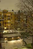 Bakgård i Stockholm