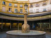 Plaza cirkulär. Valencia. Spanien