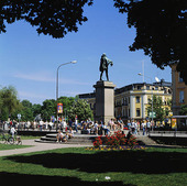 Staty Karl IX i Karlstad, Värmland