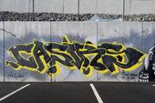Graffiti på mur