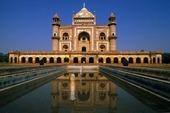 Hamayuns Mausoleum in New Delhi, India