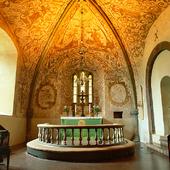 Interiör Forshems kyrka, Västergötland