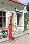 Bensinpump, Skansen, Stockholm