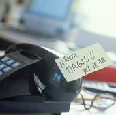 Notis på telefon
