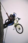 Klättring med cykel