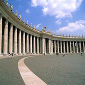 Petersplatsen i Rom, Italien