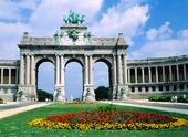 Triumfbågen i Bryssel, Belgien