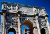 Arch of Constantine i Rom, Italien