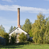 Karamellfabriken i Freluga, Hälsingland