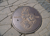 Brunnslock i gata, Malmö