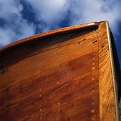 Fritidsbåt i trä
